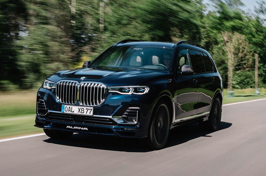 Alpina XB7 2020 road test review - on the road front