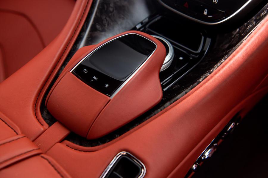 Aston Martin DBS Superleggera 2018 road test review - centre console