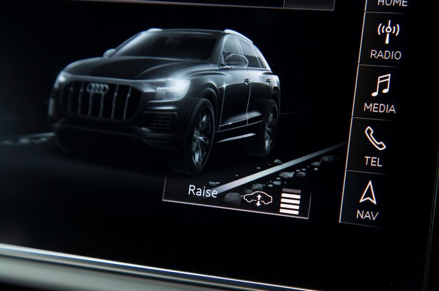 Audi Q8 ride & handling | Autocar