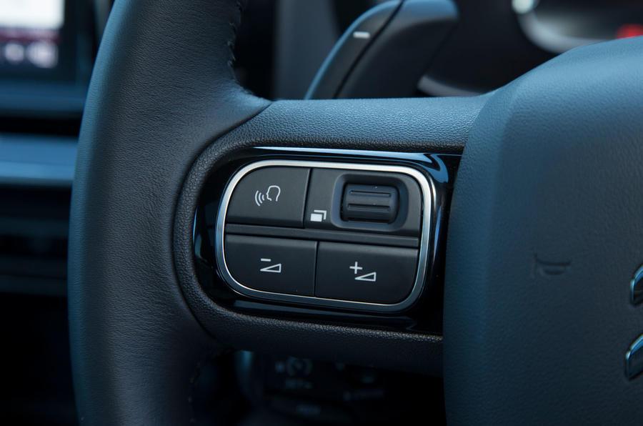 Citroen C5 Aircross 2019 road test review - steering wheel controls