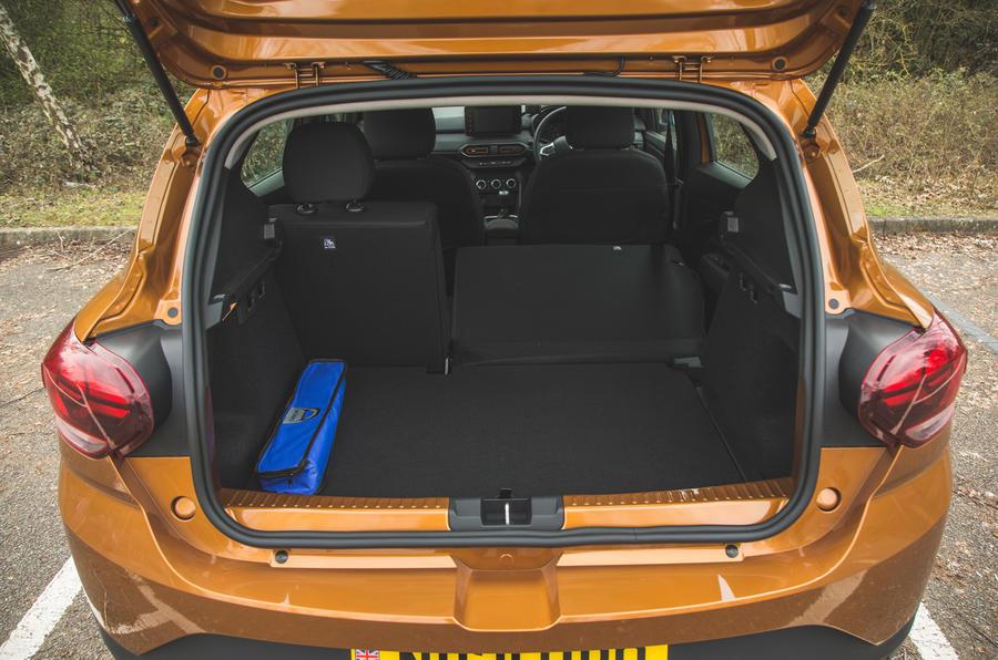 20 Dacia Sandero Stepway 2021 RT coffre à bagages
