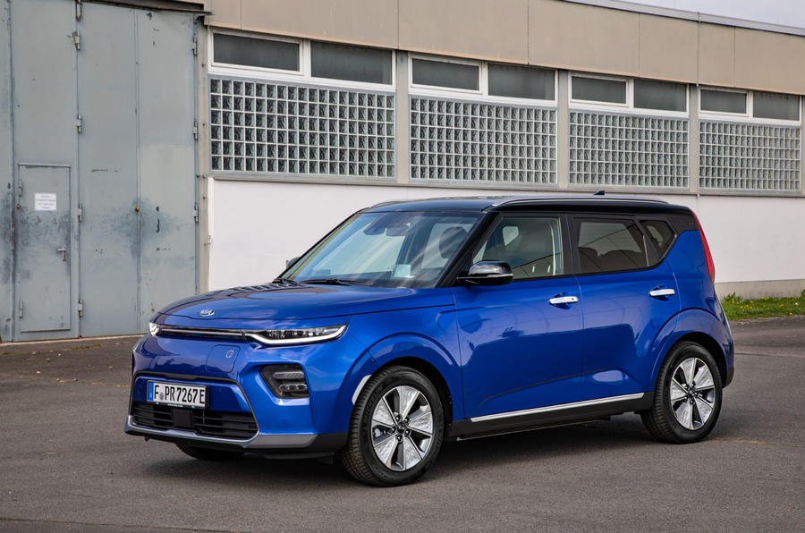 Kia Soul EV 2019 European first drive - static front