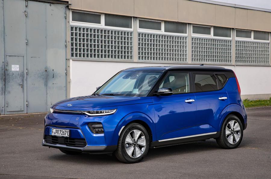 Kia Soul EV 2019 European first drive - static front