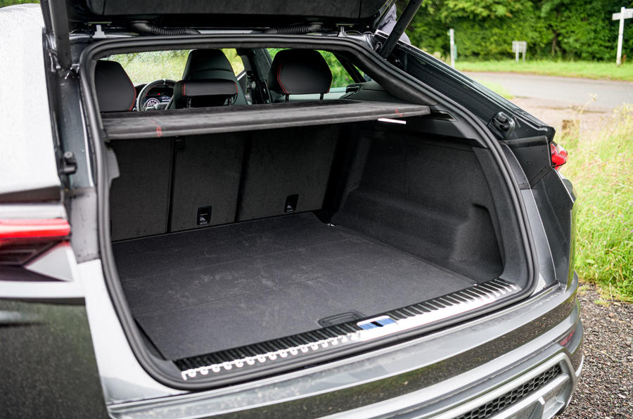 Lamborghini Urus 2019 road test review - boot