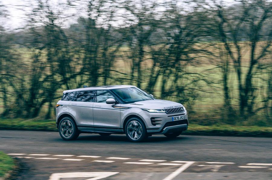20 Land Rover Range Rover Evoque 2021 : essai routier
