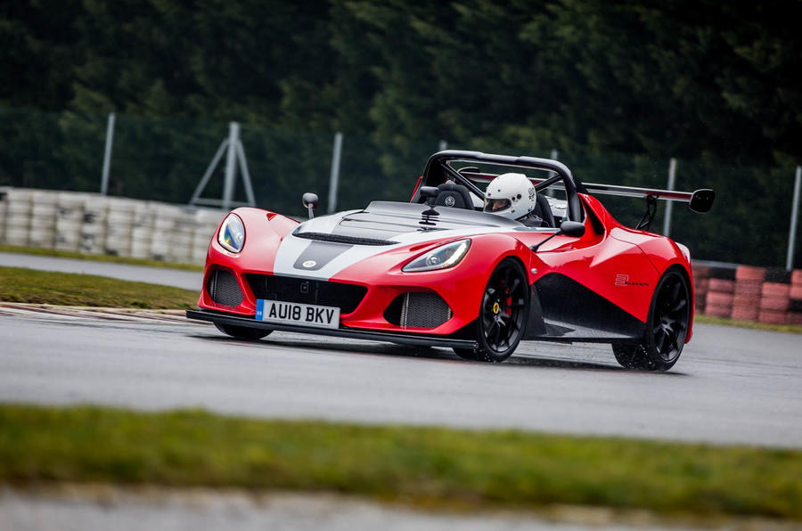 Lotus 3-Eleven 430 review cornering