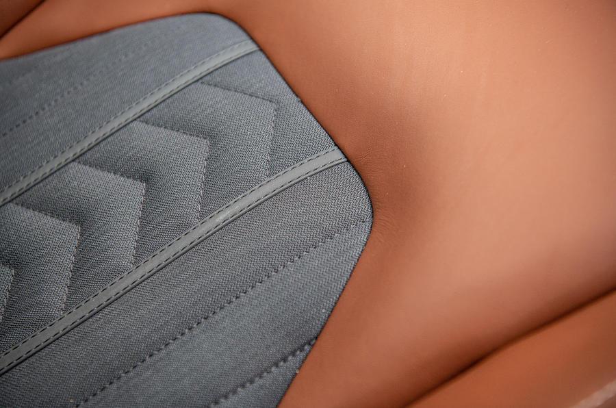 Maserati Levante S GranLusso 2019 road test review - seat details