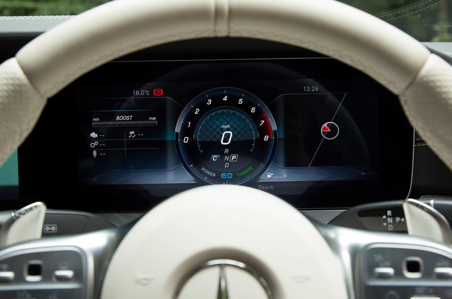 Mercedes-AMG CLS 53 2018 road test review - instrument cluster