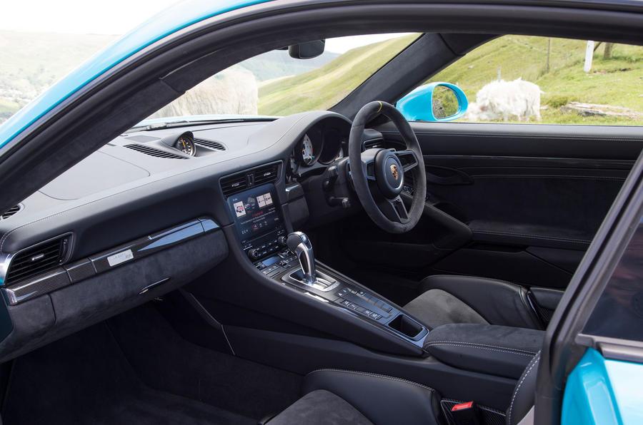 Porsche 911 GT2 RS 2018 road test review cabin