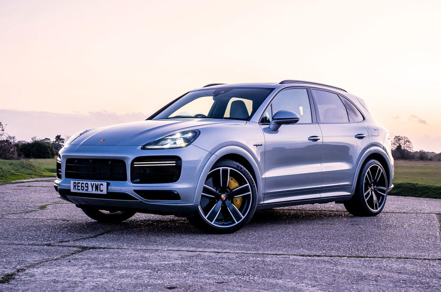 Porsche Cayenne Turbo S E-Hybrid road test review - static front