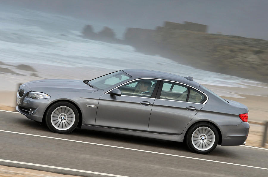 BMW 528i side profile