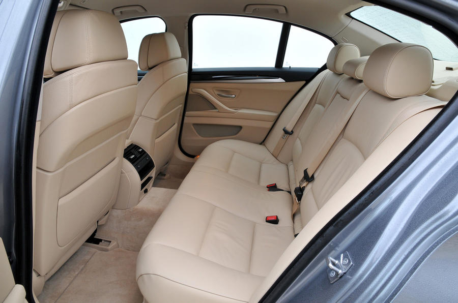 BMW 528i SE rear seats