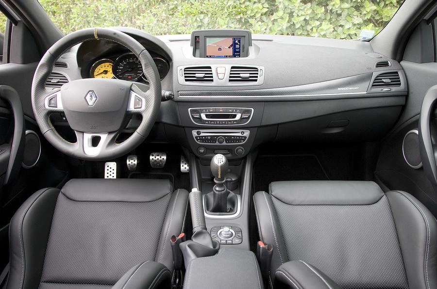 Renaultsport Megane 250 dashboard