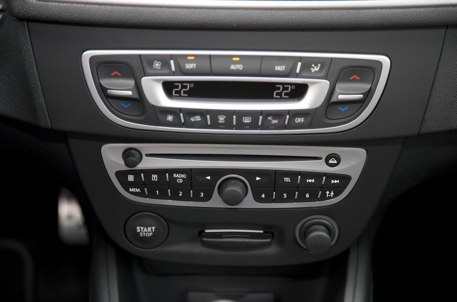 Renaultsport Megane 250 centre console