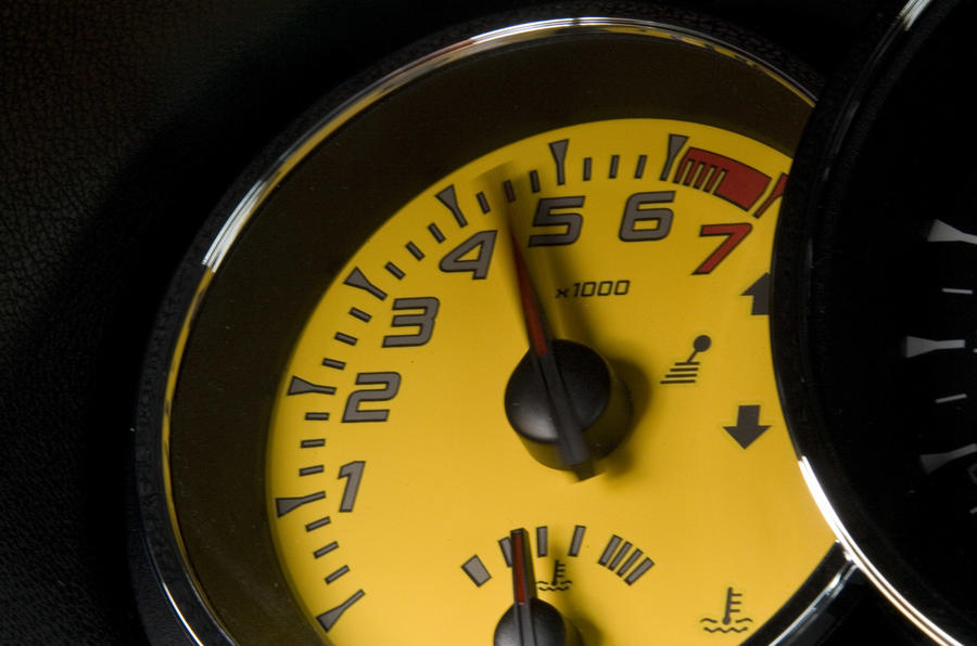 Renaultsport Megane 250 rev counter