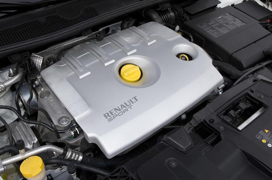 Renaultsport Megane 250 engine bay
