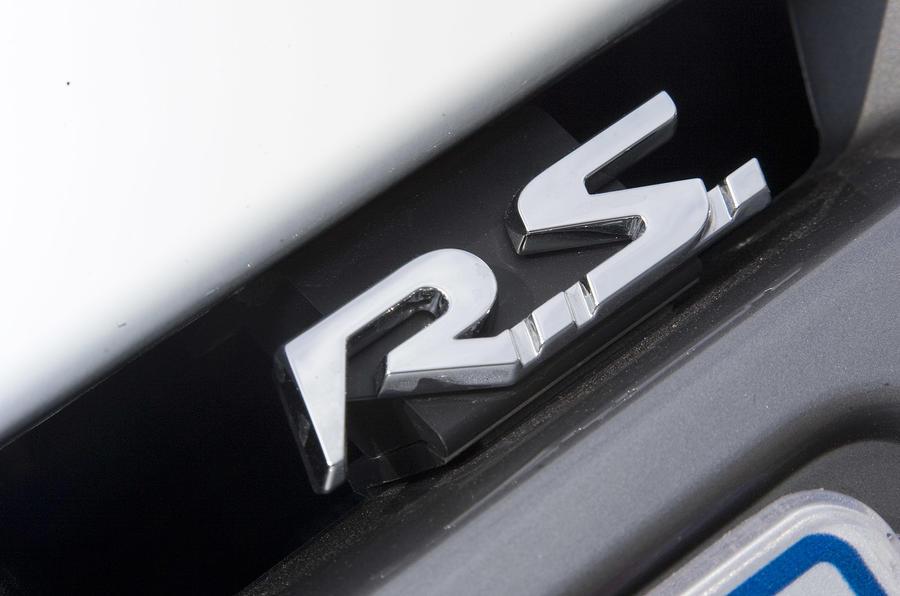 Renaultsport Megane 250 badging