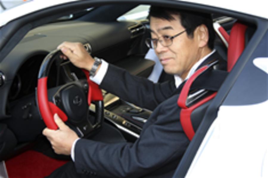 Q+A, Lexus LFA's chief engineer