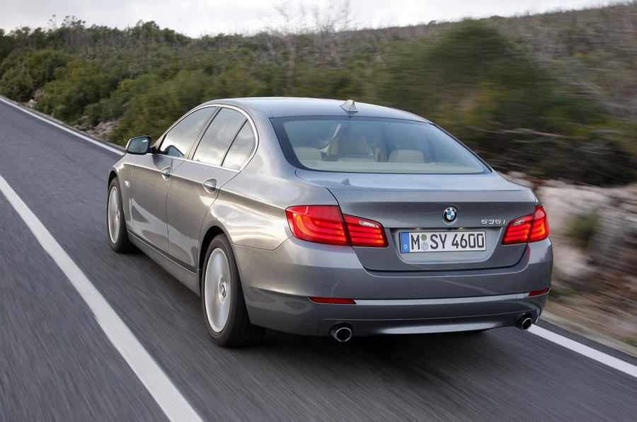 BMW 535i rear