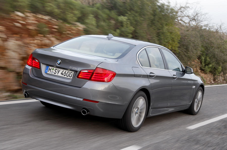 BMW 535i rear quarter