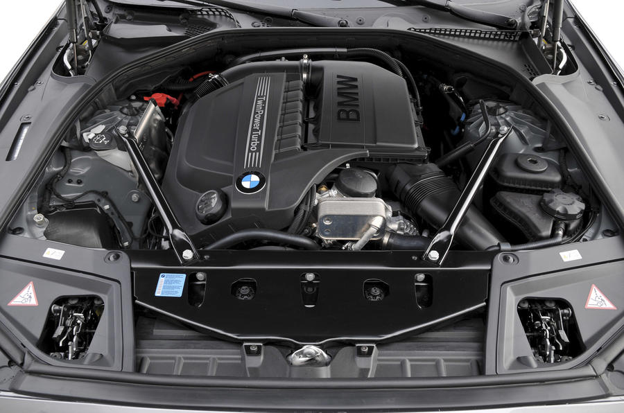3.0-litre BMW 535i petrol engine