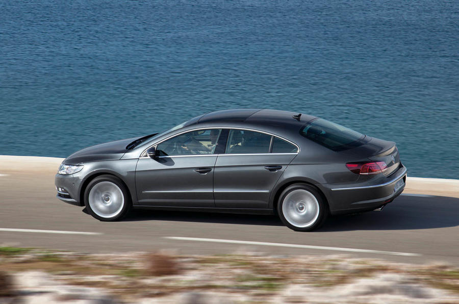 Volkswagen CC side profile