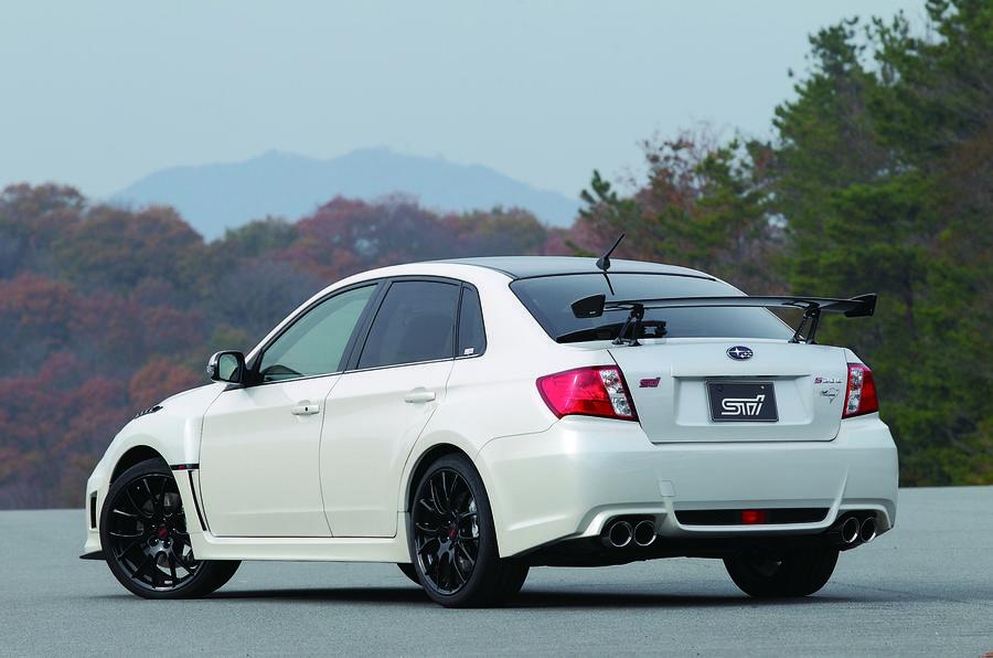 Subaru Impreza WRX STI Nurburgring rear