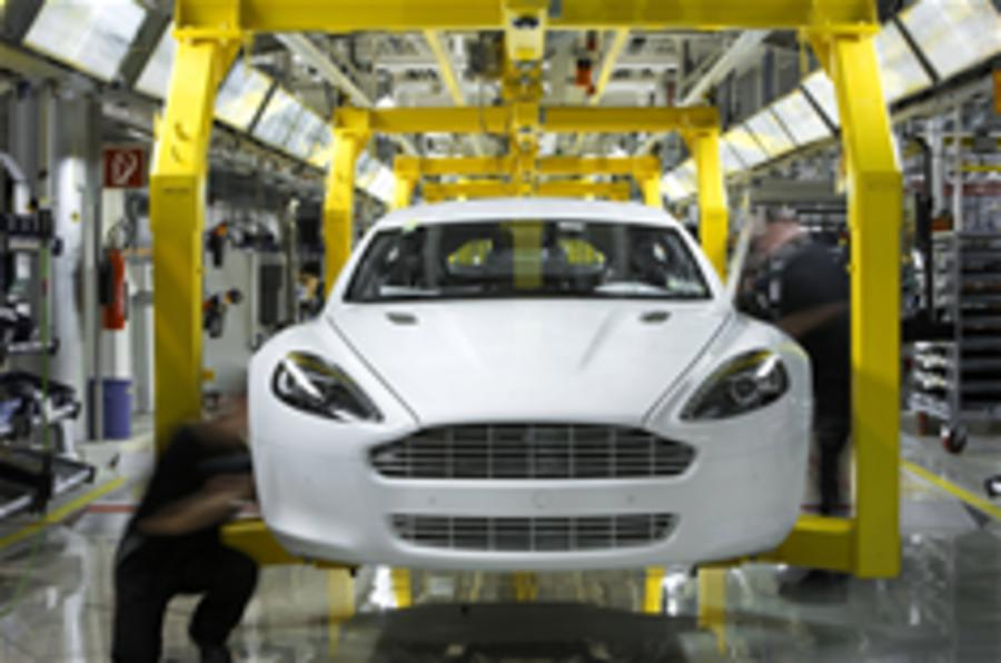 Aston's new factory - pic special