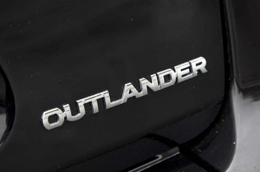 Mitsubishi Outlander badging