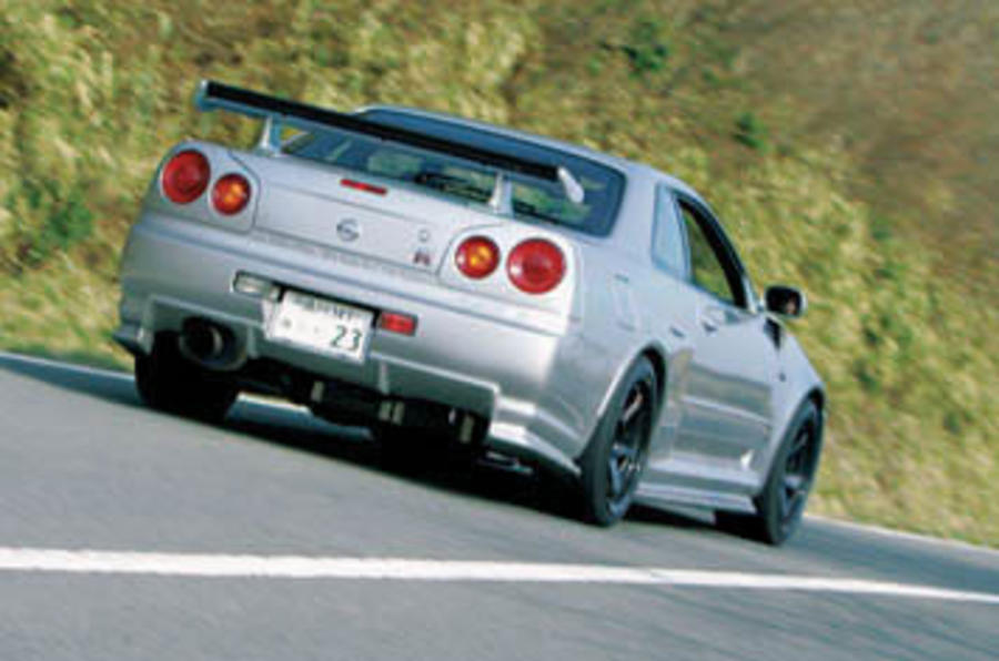 Nissan Skyline GT-R rear
