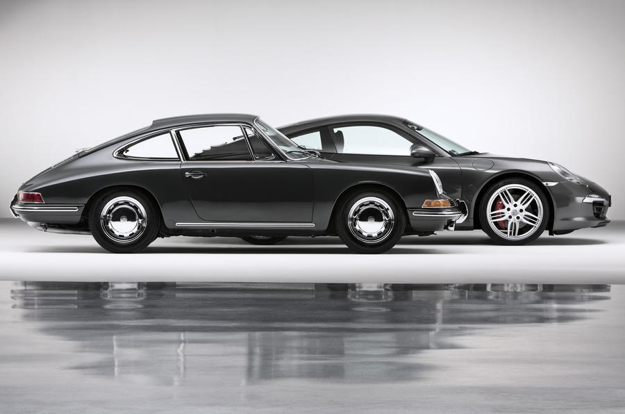 Porsche 911: new versus old