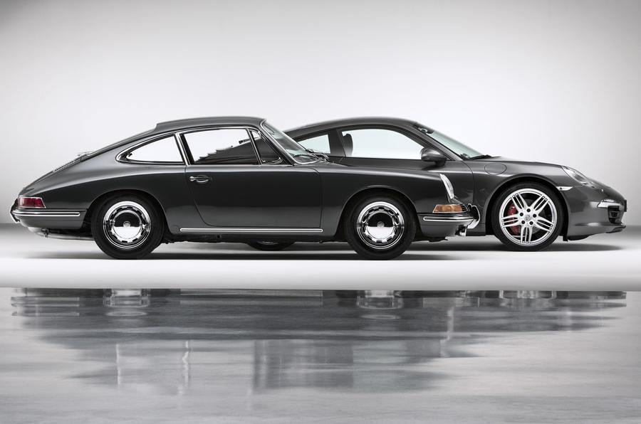 Porsche 911: new versus old