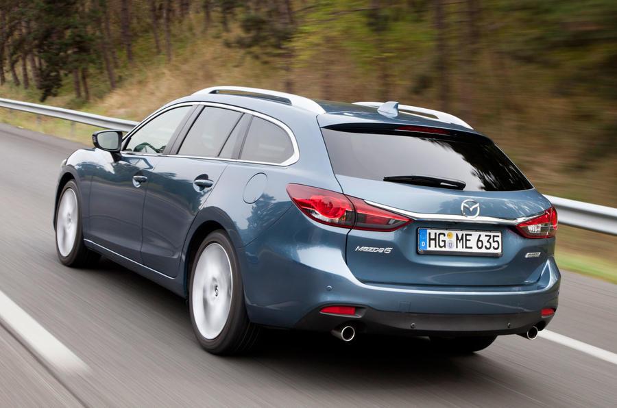 Mazda 6 Estate rear