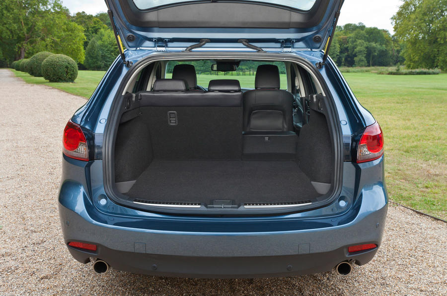 Mazda 6 Estate boot space