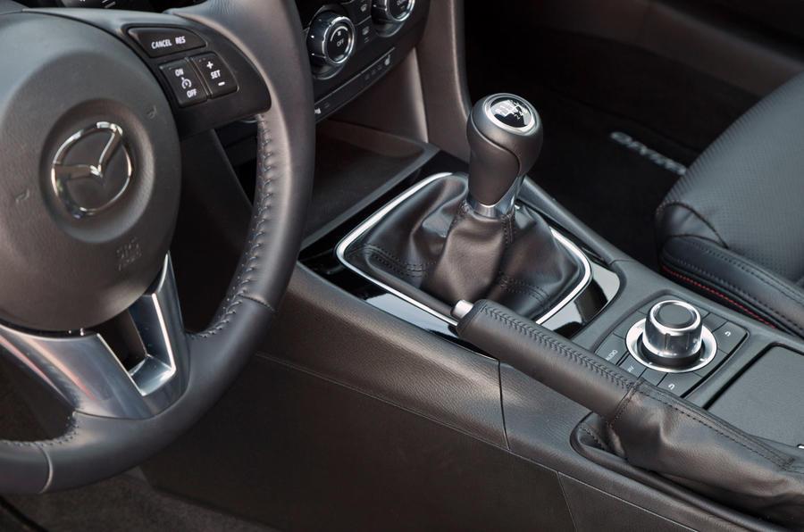 Mazda 6 manual gearbox