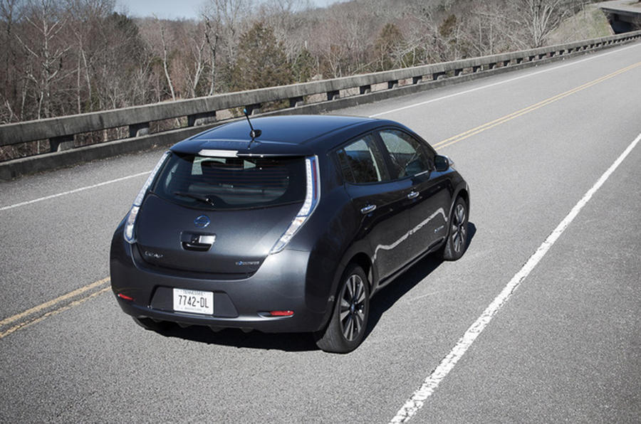 Second Generation Nissan Leaf First Drive Review