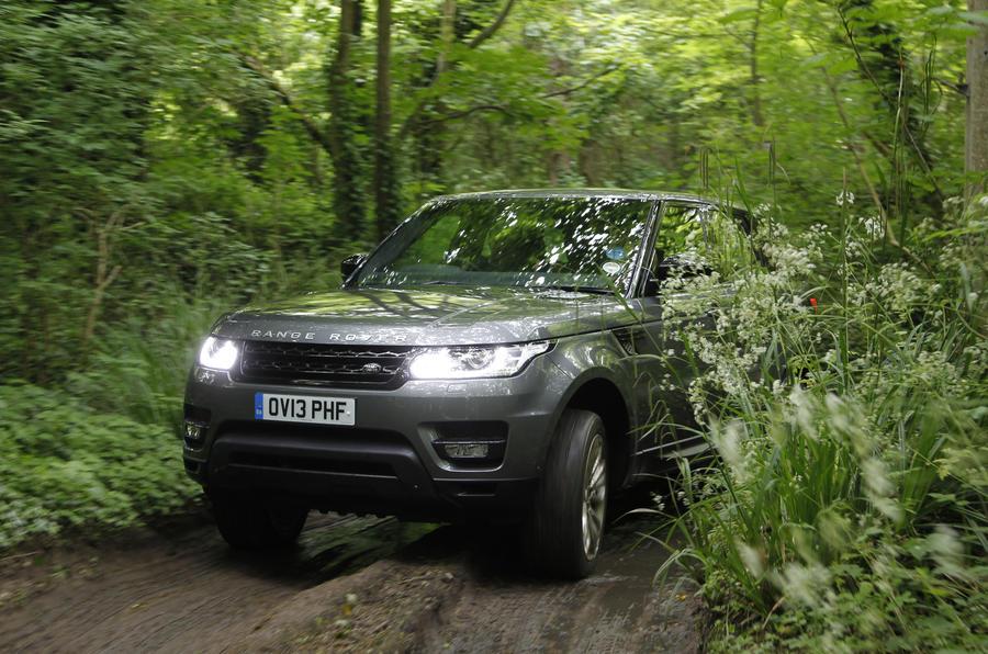 Supercharged V8 Range Rover Sport