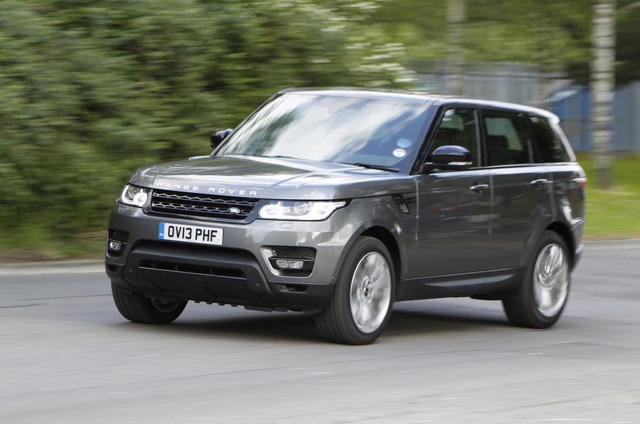 range rover sport supercharged 5 0 litre v8 first drive. Black Bedroom Furniture Sets. Home Design Ideas