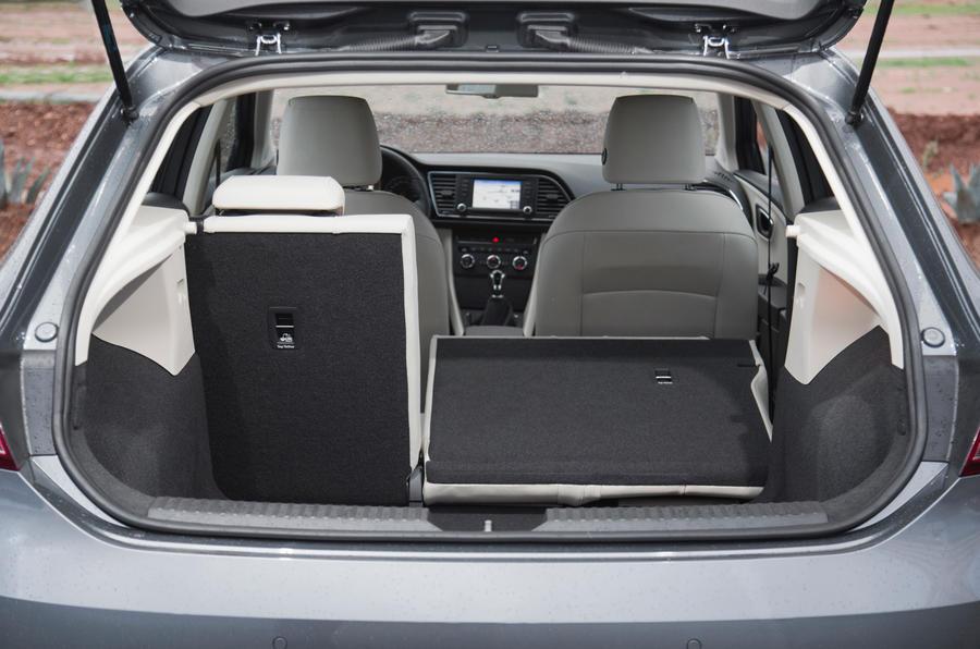 Seat Leon seating flexibility
