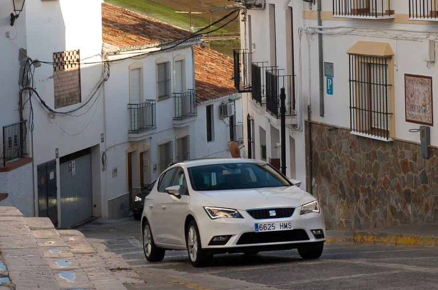 Seat Leon in town