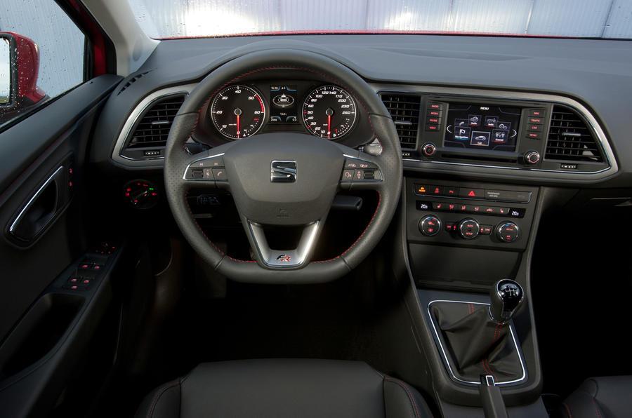 Seat Leon FR dashboard