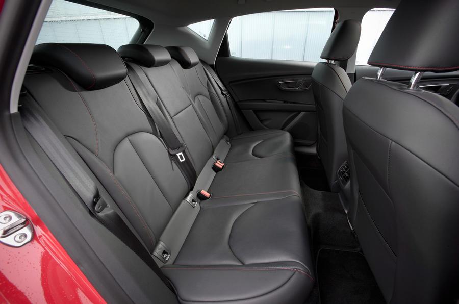 Seat Leon FR rear seats