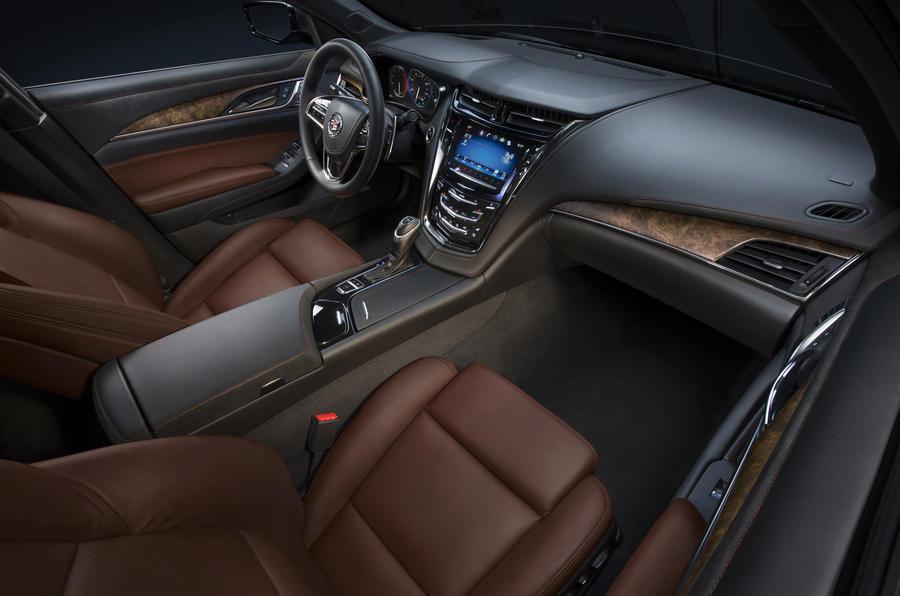 New York motor show: Cadillac CTS