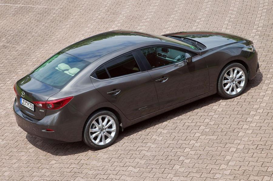 New Mazda 3 Saloon images leaked