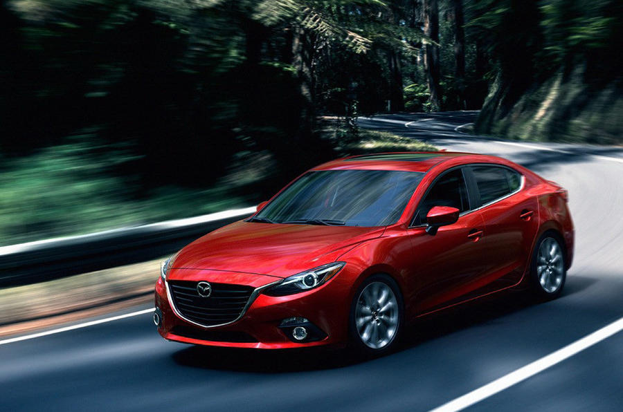 New Mazda 3 Saloon images leaked