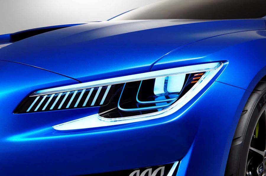 Subaru WRX concept revealed ahead of New York show