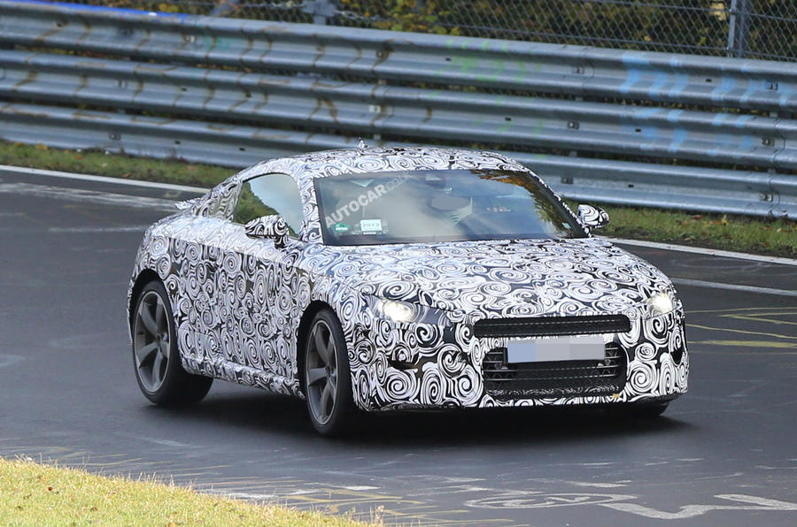 Audi TT to be revealed in March
