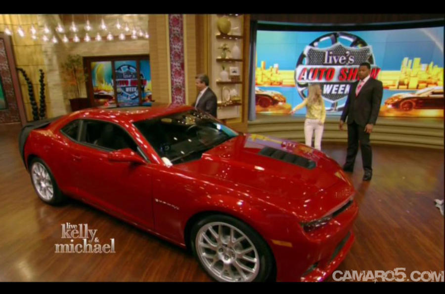 2014 Chevrolet Camaro previewed