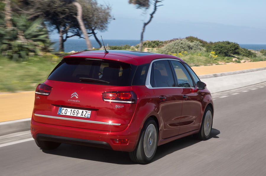 Citroën C4 Picasso rear