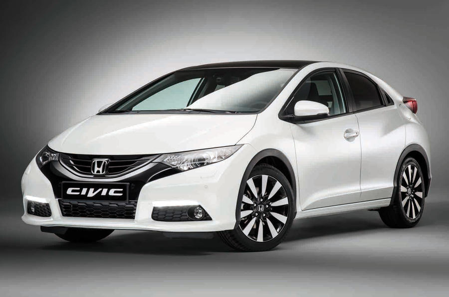 2014 Honda Civic facelift revealed